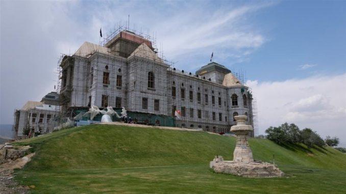 war-scarred Kabul palace restored 2019